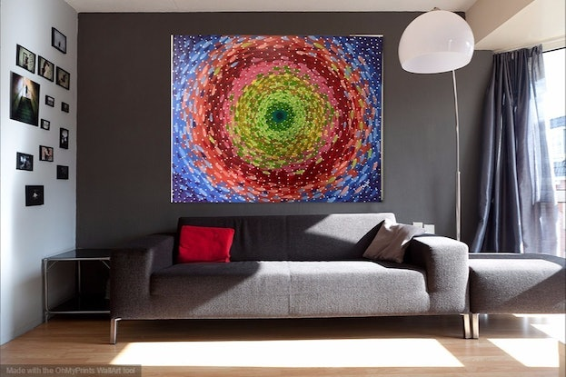 (CreativeWork) untitled  by kojo frimpong. Acrylic Paint. Shop online at Bluethumb.