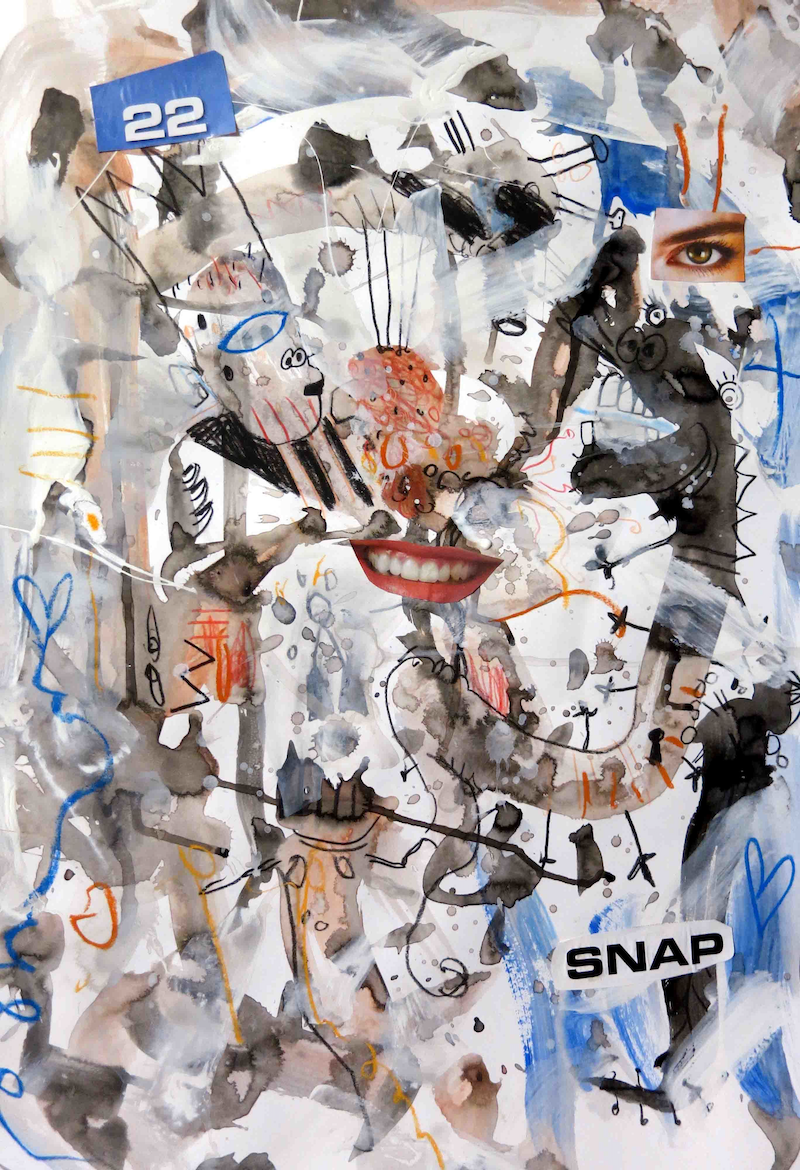 (CreativeWork) Snap  by John Graham. mixed-media. Shop online at Bluethumb.