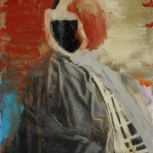 (CreativeWork) Crinoline by Robyn Burgess. oil-painting. Shop online at Bluethumb.