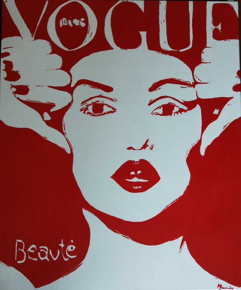 (CreativeWork) VOGUE Revamped. by dMilo .. Acrylic Paint. Shop online at Bluethumb.