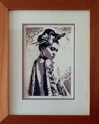 (CreativeWork) Misaki Ed. 1 of 1 by Brigit Murray. Print. Shop online at Bluethumb.