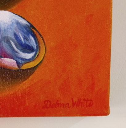(CreativeWork) SPOON REST by Delma White. Oil Paint. Shop online at Bluethumb.