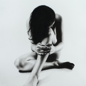 (CreativeWork) Nude Woman Charcoal Study 51 by Ashvin Harrison. drawing. Shop online at Bluethumb.