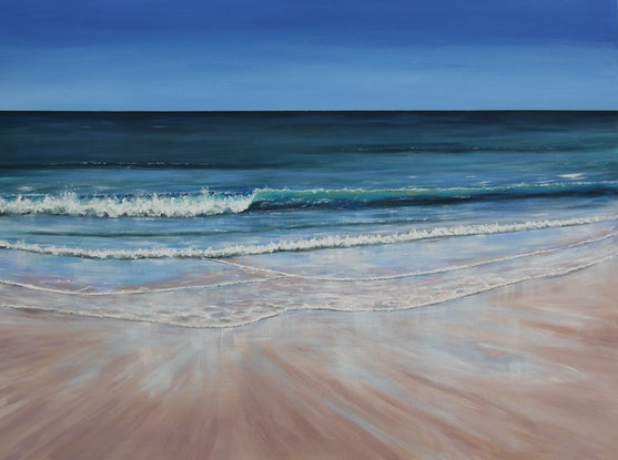 (CreativeWork) Breathe by Ann Steer. Acrylic Paint. Shop online at Bluethumb.