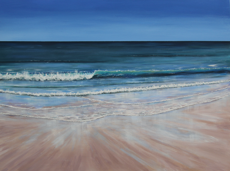 (CreativeWork) Breathe by Ann Steer. arcylic-painting. Shop online at Bluethumb.