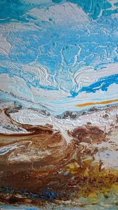(CreativeWork) Absolute by William Holt. Acrylic Paint. Shop online at Bluethumb.
