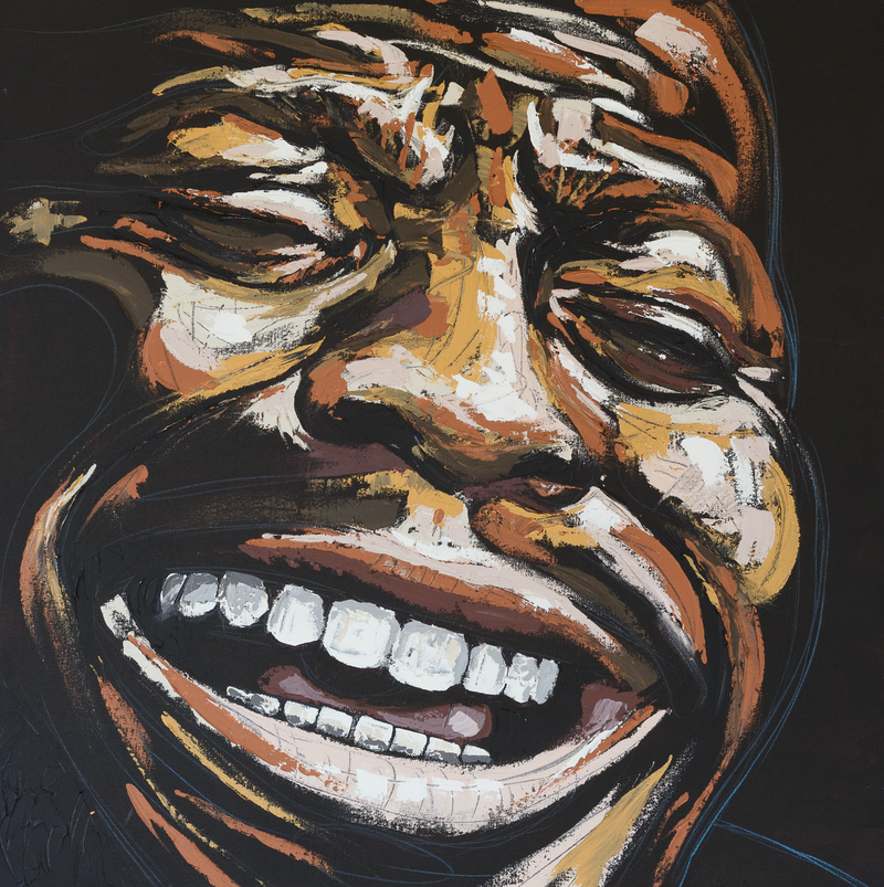 (CreativeWork) Soul by Aidan Smith. Acrylic Paint. Shop online at Bluethumb.