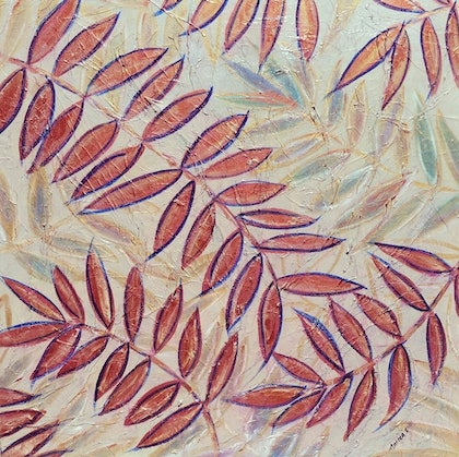 (CreativeWork) Fronds of Alchemy by Anthea Piszczuk. mixed-media. Shop online at Bluethumb.