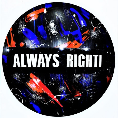 (CreativeWork) Always Right! by Leith Kennedy. Mixed Media. Shop online at Bluethumb.