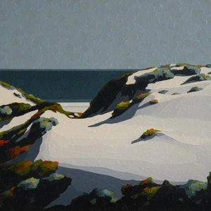 (CreativeWork) West Coast 3 by Colin Madgwick. oil-painting. Shop online at Bluethumb.