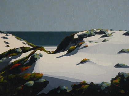 (CreativeWork) West Coast by Colin Madgwick. oil-painting. Shop online at Bluethumb.