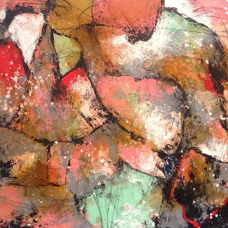 (CreativeWork) Untitled No. 14 by Aimee Rytenskild. Mixed Media. Shop online at Bluethumb.