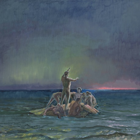 (CreativeWork) Flotsam-Jetsam by Philip Kreveld. Oil Paint. Shop online at Bluethumb.