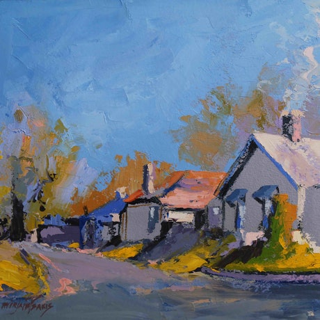 (CreativeWork) Edward Lane, Mittagong NSW by Mirjana Psakis. Oil Paint. Shop online at Bluethumb.