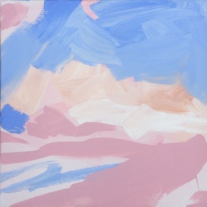 (CreativeWork) Gestural Meditation no.2 by Tom Parsons. arcylic-painting. Shop online at Bluethumb.