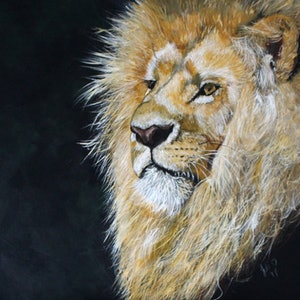 (CreativeWork) Nobility by Julie Hollis. arcylic-painting. Shop online at Bluethumb.