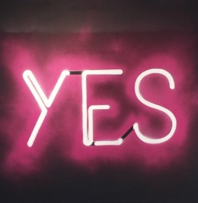 (CreativeWork) YES by Adam Todd. #<Filter:0x00007fa56e5712f8>. Shop online at Bluethumb.