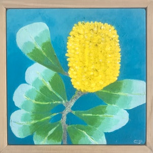 (CreativeWork) Coastal Banksia by Christina Power. #<Filter:0x0000557270daa9e8>. Shop online at Bluethumb.
