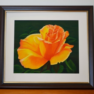 (CreativeWork) Spanish Rose by Kathleen Pieterse. other-media. Shop online at Bluethumb.