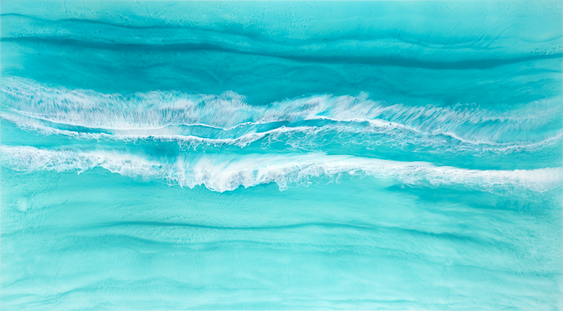 (CreativeWork) Maldive Dip by Martine Vanderspuy. resin. Shop online at Bluethumb.