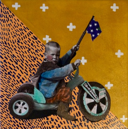 (CreativeWork) And I Still Don't Know, Which Way to Go by Kelly Sullivan. mixed-media. Shop online at Bluethumb.