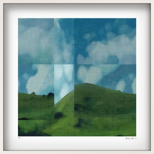 (CreativeWork) 'Mount McCahon'   Ed. 3 of 25 by George Hall. print. Shop online at Bluethumb.