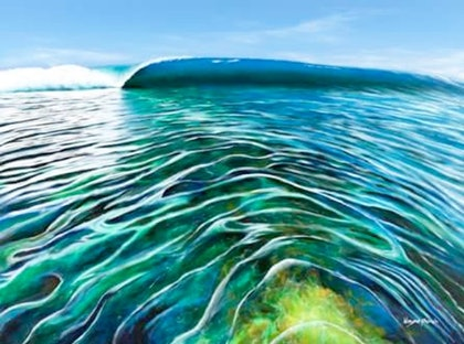 (CreativeWork) Pristine Waters Ed. 12 of 50 by Wayne French. print. Shop online at Bluethumb.