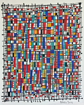 (CreativeWork) It's Just a Game     (But Red always Wins....) by natalie green. Acrylic Paint. Shop online at Bluethumb.