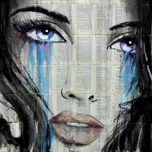 (CreativeWork) DUSK by loui jover. drawing. Shop online at Bluethumb.