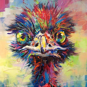 (CreativeWork) Emu 9 by Jos Coufreur. #<Filter:0x00007f979115c3d8>. Shop online at Bluethumb.