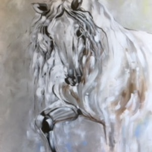(CreativeWork) Stepping Out by Susan Fuss. arcylic-painting. Shop online at Bluethumb.