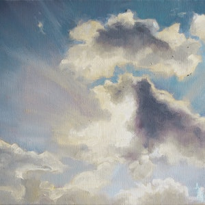 (CreativeWork) Morning Cloud Study by Annabelle Mannings. #<Filter:0x00005562365337c8>. Shop online at Bluethumb.