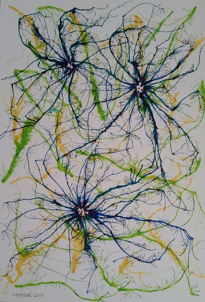 Feather Star (green)