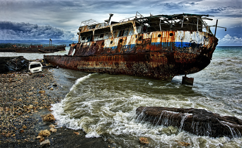 (CreativeWork) Ship wreck by Stuart Chape. photograph. Shop online at Bluethumb.
