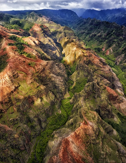 (CreativeWork) Waimea canyon 1 by Stuart Chape. photograph. Shop online at Bluethumb.