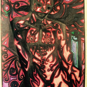 (CreativeWork) The Devil Himself by Lisa-Maree Goff. other-media. Shop online at Bluethumb.