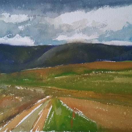 """(CreativeWork) View to """"Bonnydoon"""" by Alicia Douglas. Other Media. Shop online at Bluethumb."""