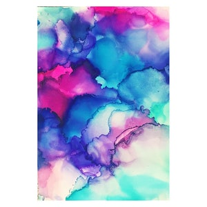 (CreativeWork) Svee Alcohol Ink Print by Nikki Royle. other-media. Shop online at Bluethumb.