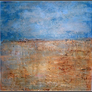"(CreativeWork) ""Is that Water?"" by linda bartlett. mixed-media. Shop online at Bluethumb."