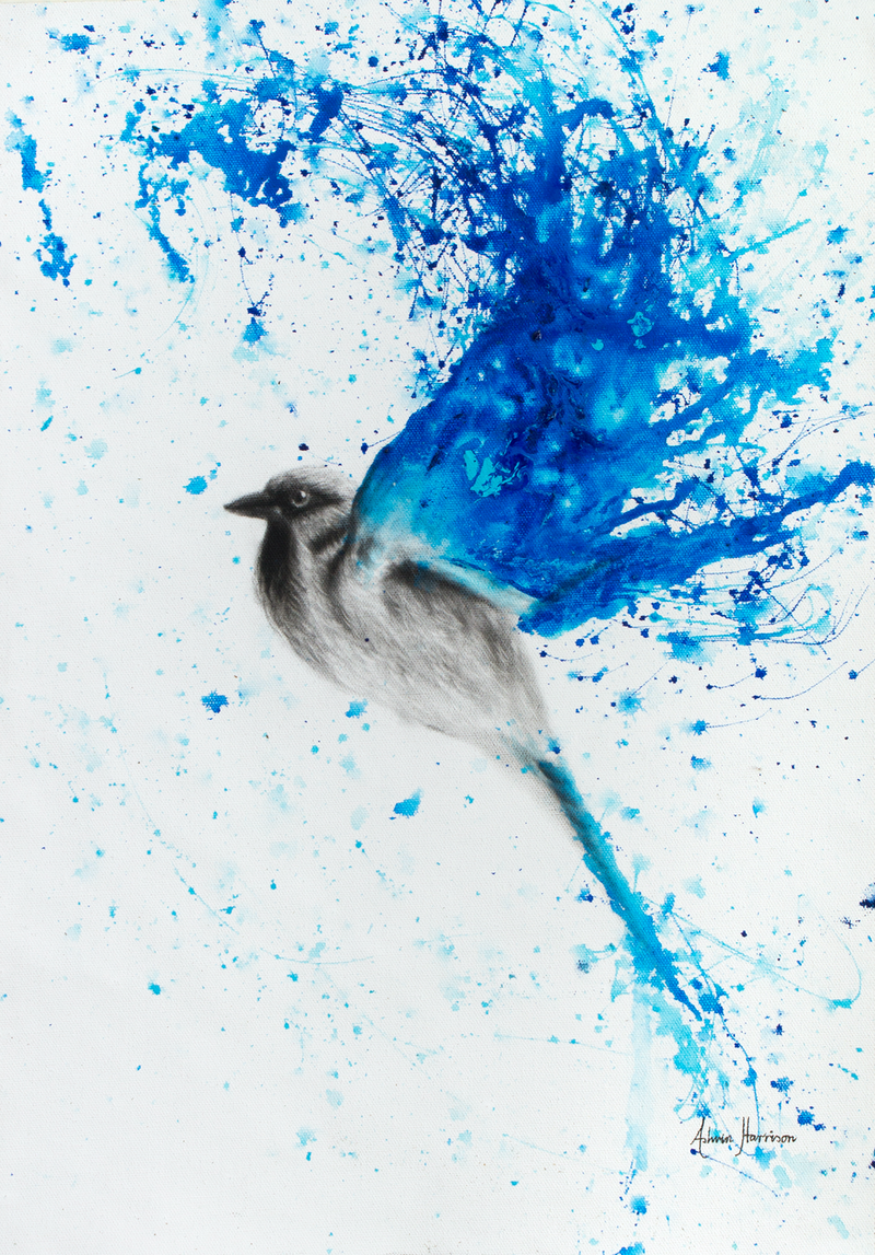 (CreativeWork) Water Rise by Ashvin Harrison. arcylic-painting. Shop online at Bluethumb.