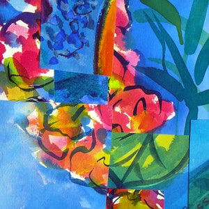 (CreativeWork) Dreams of Paradise by valarie ross. watercolour. Shop online at Bluethumb.