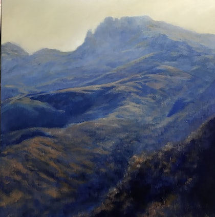 (CreativeWork) Afternoon Light, Geryon by Rachel Howell. oil-painting. Shop online at Bluethumb.
