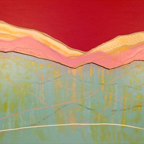 (CreativeWork) Flying Up Ahead by Yvette Swan. Oil Paint. Shop online at Bluethumb.