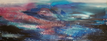 (CreativeWork) Tempest by suzanne Turner. mixed-media. Shop online at Bluethumb.