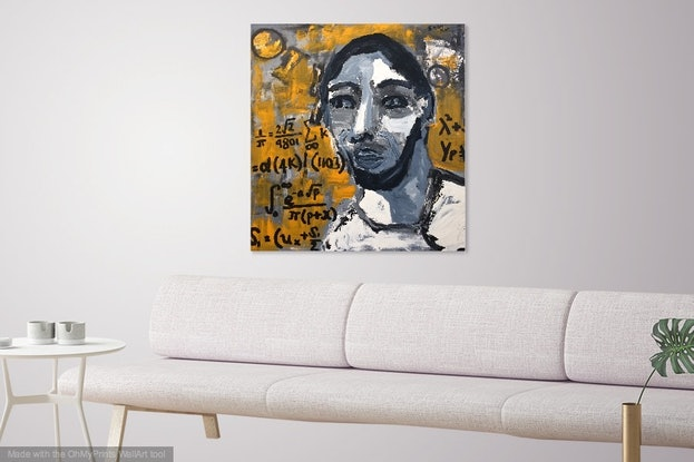 (CreativeWork) It's messy by Sharon Monagle. Acrylic Paint. Shop online at Bluethumb.