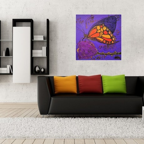 (CreativeWork) A delicate touch by Camilo Esparza. Oil Paint. Shop online at Bluethumb.