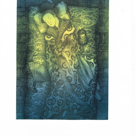 (CreativeWork) Sunlight Coaxes my Senses from Slumber Ed. 5 of 10 by Jennifer O'Young. Print. Shop online at Bluethumb.