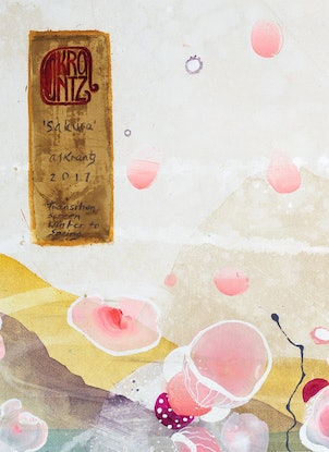 (CreativeWork) Sakura by Amanda Krantz. Mixed Media. Shop online at Bluethumb.