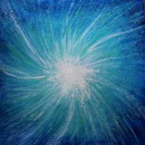 (CreativeWork) Resurfacing by Wendy Hocking. arcylic-painting. Shop online at Bluethumb.