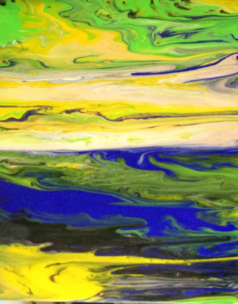 Cool colours for a hot day (2) by Margaret Morgan (Watkins ...
